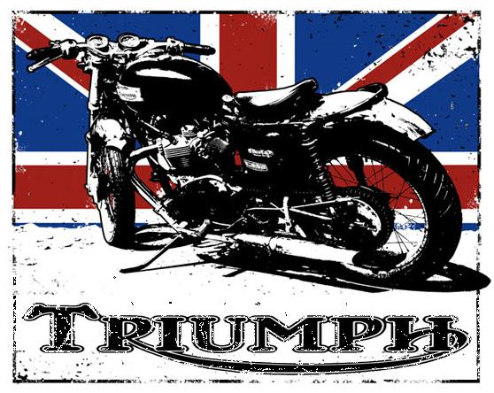 Triumph Motorcycle T Shirts