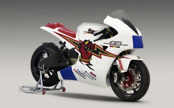 2012 Mugen Shinden Electric Racebike Revealed (Video)