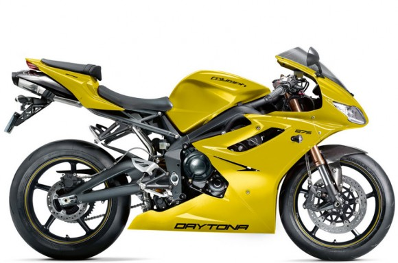2012 Triumph Daytona 675 New Color Scheme