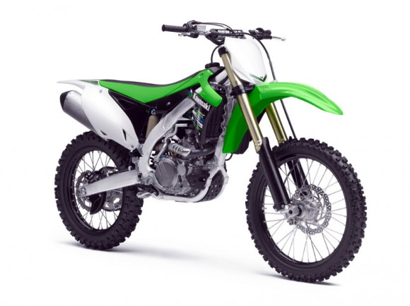 2013 Kawasaki KX450F and KX250F Motocross Bikes