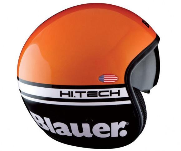 Blauer Pilot Orange Helmet