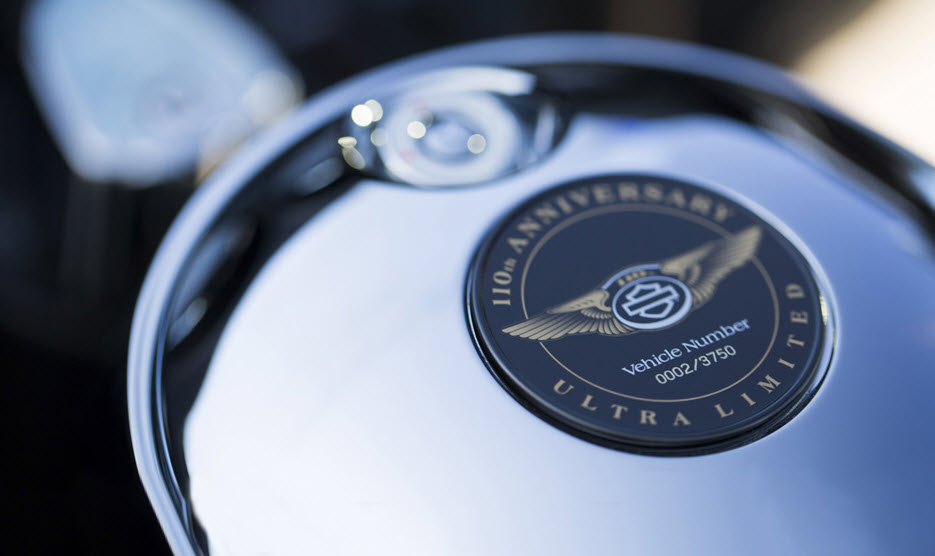2013 Harley-Davidson Limited Edition 110th Anniversary Models Announced