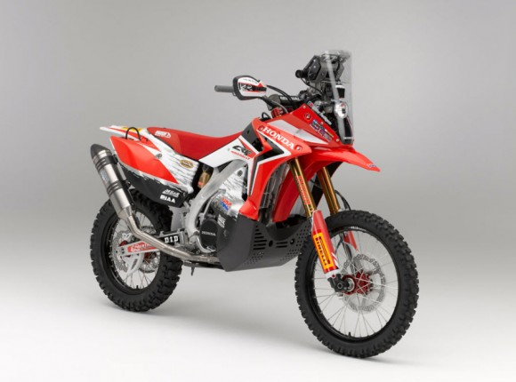 2013 Honda CRF450 Rally