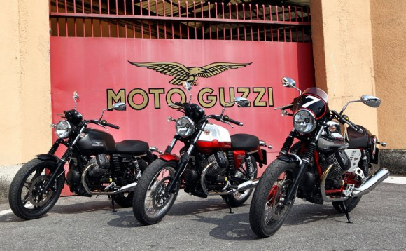 Moto Guzzi V7 Special, V7 Stone and V7 Racer Heading to US for 2013