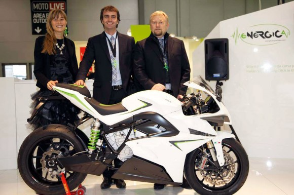CRP Energica, Electric Sportbike Which Faster than Brammo Empulse R