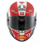 GP-Tech Marco Simoncelli Tribute Helmet_1