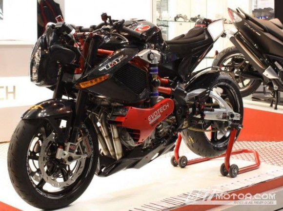 2013 Benelli TNT Tornado 1130 Supercharged by Evotech