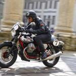 2013 Italian V-twin Moto Guzzi V7 Racer