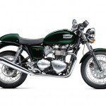 2013 Triumph Thruxton Brooklands Green