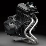 2013 Kawasaki Z250 Engine