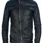ADICIANNOVEVENTITRE lama leather jacket