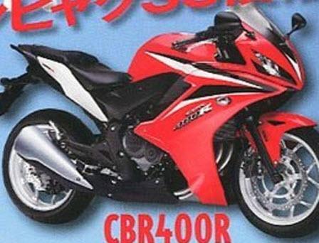 Honda Working on 400cc Engine for Asean Market, CBR400R