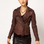 Muubaa Meggie Biker Leather Jacket