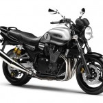 2013 Yamaha XJR 1300 Black Metallic Silver