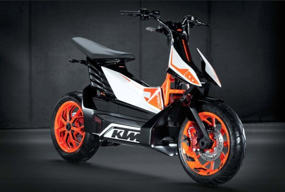 KTM Unveils E-Speed Electric Scooter Concept in Tokyo