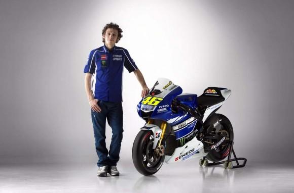 Yamaha 2013 MotoGP Livery Revealed - Valentino Rossi