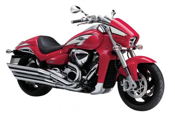 2013 Suzuki M109R Boulevard Hits Australia Pearl Mira Red