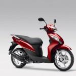 2014 Honda Vision 110 Pearl Siena Red