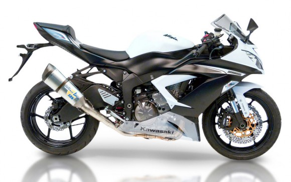 LeoVince Unveils New Exhaust Systems for the 2013 Kawasaki Ninja ZX-6R (636)