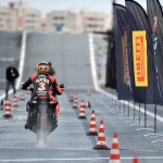 Max Biaggi Tests Pirelli Angel GT Tires on Italian Aircraft Carrier_2