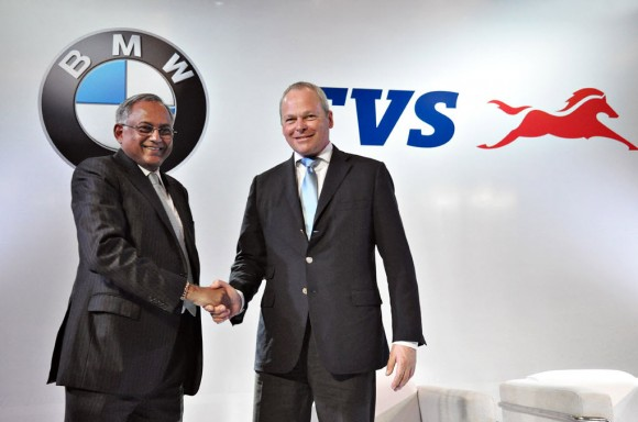TVS Motor and BMW Motorrad Sign Agreement, to build small-displacement motorcycles
