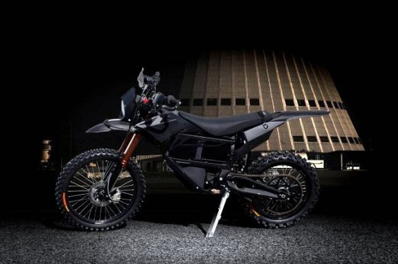2013 Zero MMX Military Motorcycle