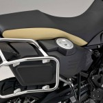 2014 BMW F800GS Adventure Sandrover Matt Fuel Tank