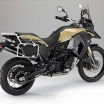 2014 BMW F800GS Adventure Sandrover Matt Rear