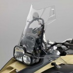 2014 BMW F800GS Adventure Sandrover Matt Windshield