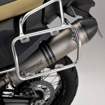 2014 BMW F800GS Adventure Sandrover Matt with Akrapovic Exhaust System
