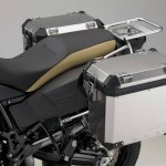 2014 BMW F800GS Adventure Sandrover Matt with Lockable Aluminium Cases