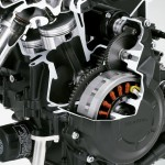 2014 Honda CBR400R Engine