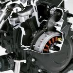 2014 Honda CBR400R Engine