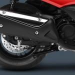 2014 Honda Forza Scooter Rear Wheel