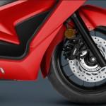 2014 Honda Forza Scooter Wheel