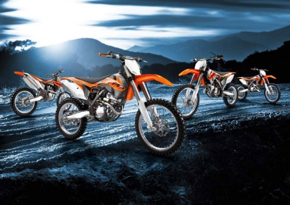 2014 KTM EXC and SX Lineup European-spec