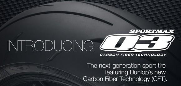 New Dunlop Sportmax Q3 Sport Tire