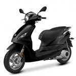2014 Piaggio Fly Graphic Black