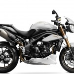 2014 Triumph Speed Triple Crystal White