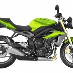2014 Triumph Street Triple Cosmic Green