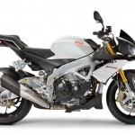2014 Aprilia Tuono V4R ABS White Side
