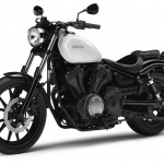 2014 Yamaha XV950 Competition White Front Side