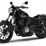 2014 Yamaha XV950 Midnight Black Front Side