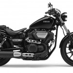 2014 Yamaha XV950 Midnight Black Right Side
