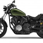 2014 Yamaha XV950R Camo Green Left Side