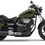 2014 Yamaha XV950R Camo Green Right Side