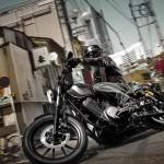 2014 Yamaha XV950R Matt Grey_1