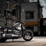 2014 Yamaha XV950R Matt Grey_4