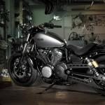 2014 Yamaha XV950R Matt Grey_7