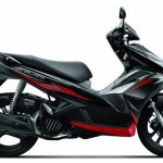 2013 Honda Air Blade Pearl Magellanic Black with Silver Metallic
